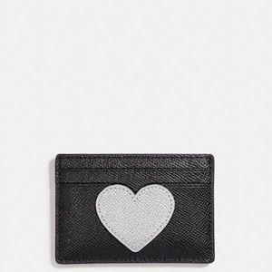 🆕Coach Flat Card Case